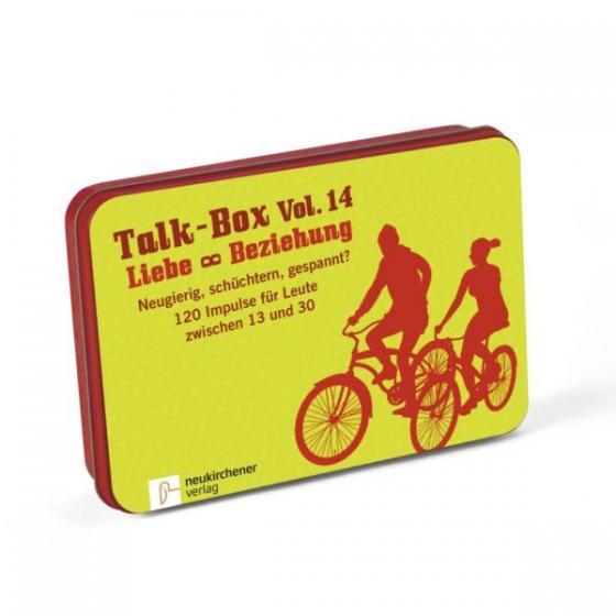 Titel der Talk Box 14: Liebe und Beziehung